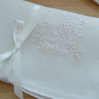 Irish linen ladies hankie