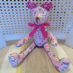 Liberty Fabric Teddy Bear