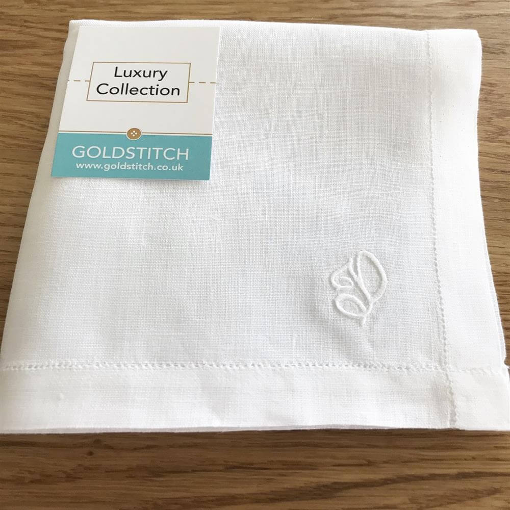 Gents Luxury Irish Linen Handkerchief
