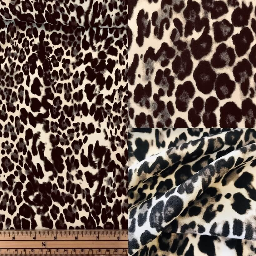 Fabric Leopard Print