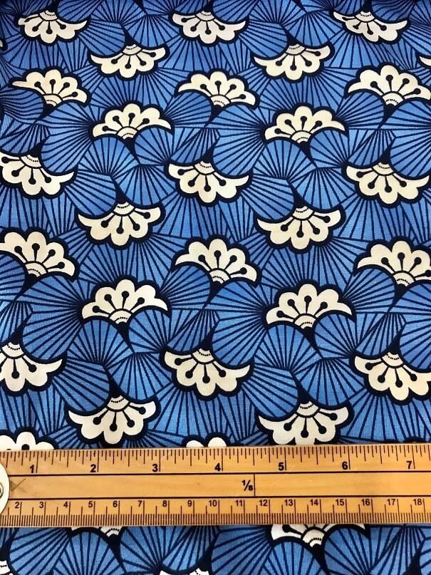 Fabric Kimono Flower