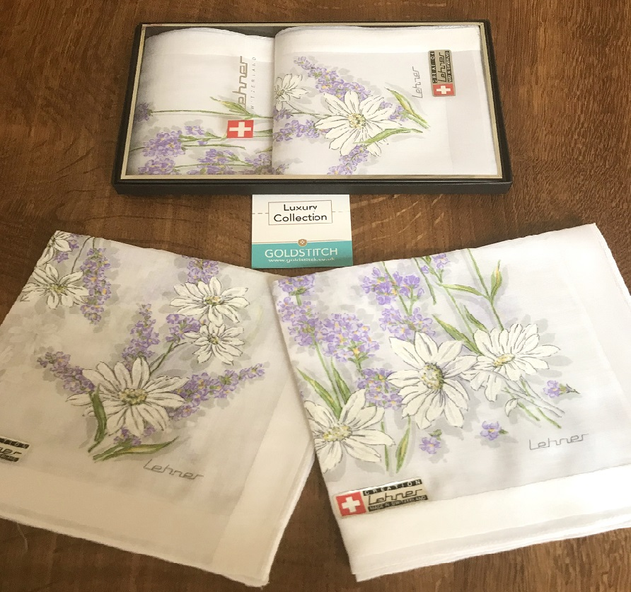 Ladies Luxury Meadow Handkerchiefs