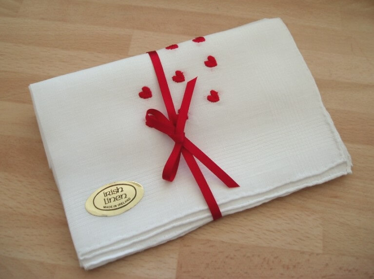 Ladies Linen Hearts Collection