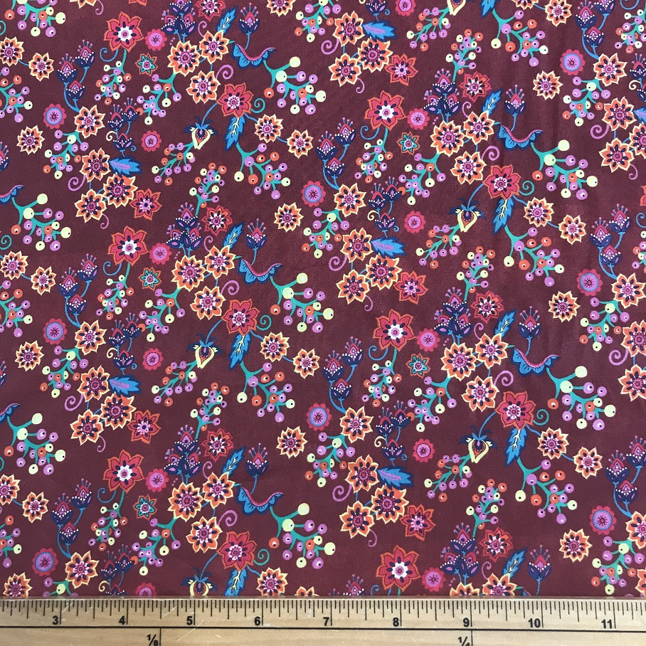 Fabric Liberty Cotton Lawn – Buds and Berry
