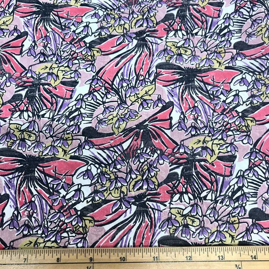 Fabric Liberty Cotton Lawn Kathleen Design