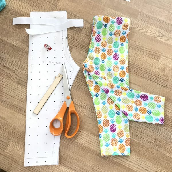 Making Children's Leggings