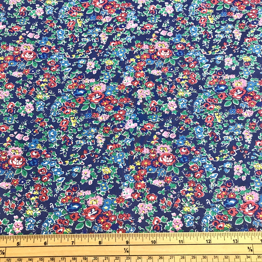 Fabric Liberty Cotton Lawn Tatum Print