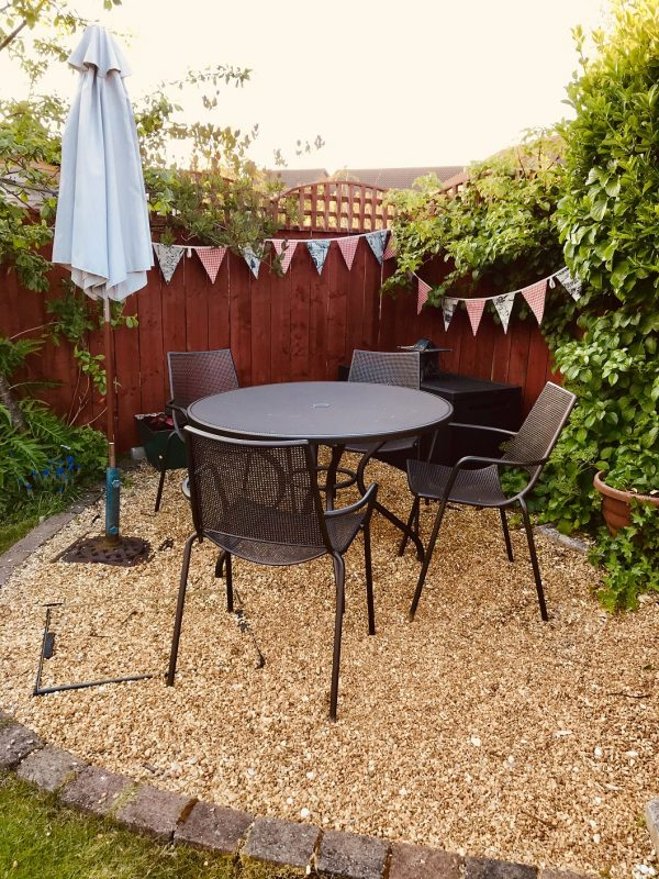 bunting for your garden