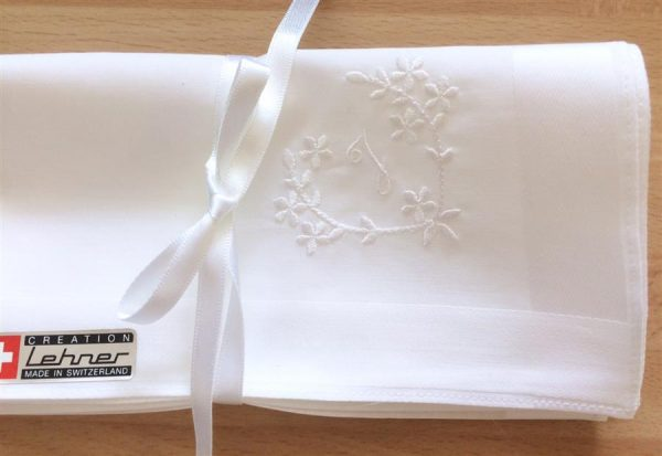 Ladies swiss cotton hankie