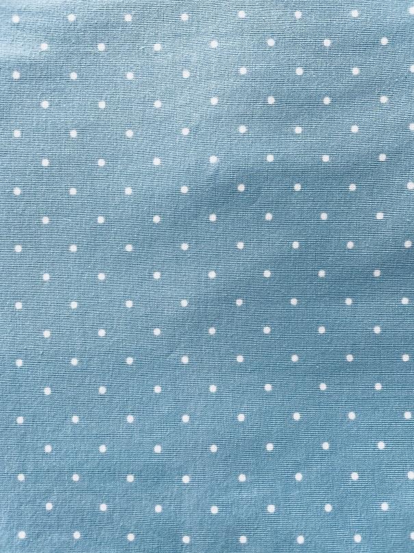 Fabric Jersey Blue Spot