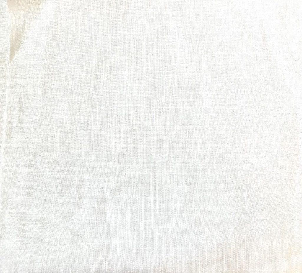 Fabric White Linen