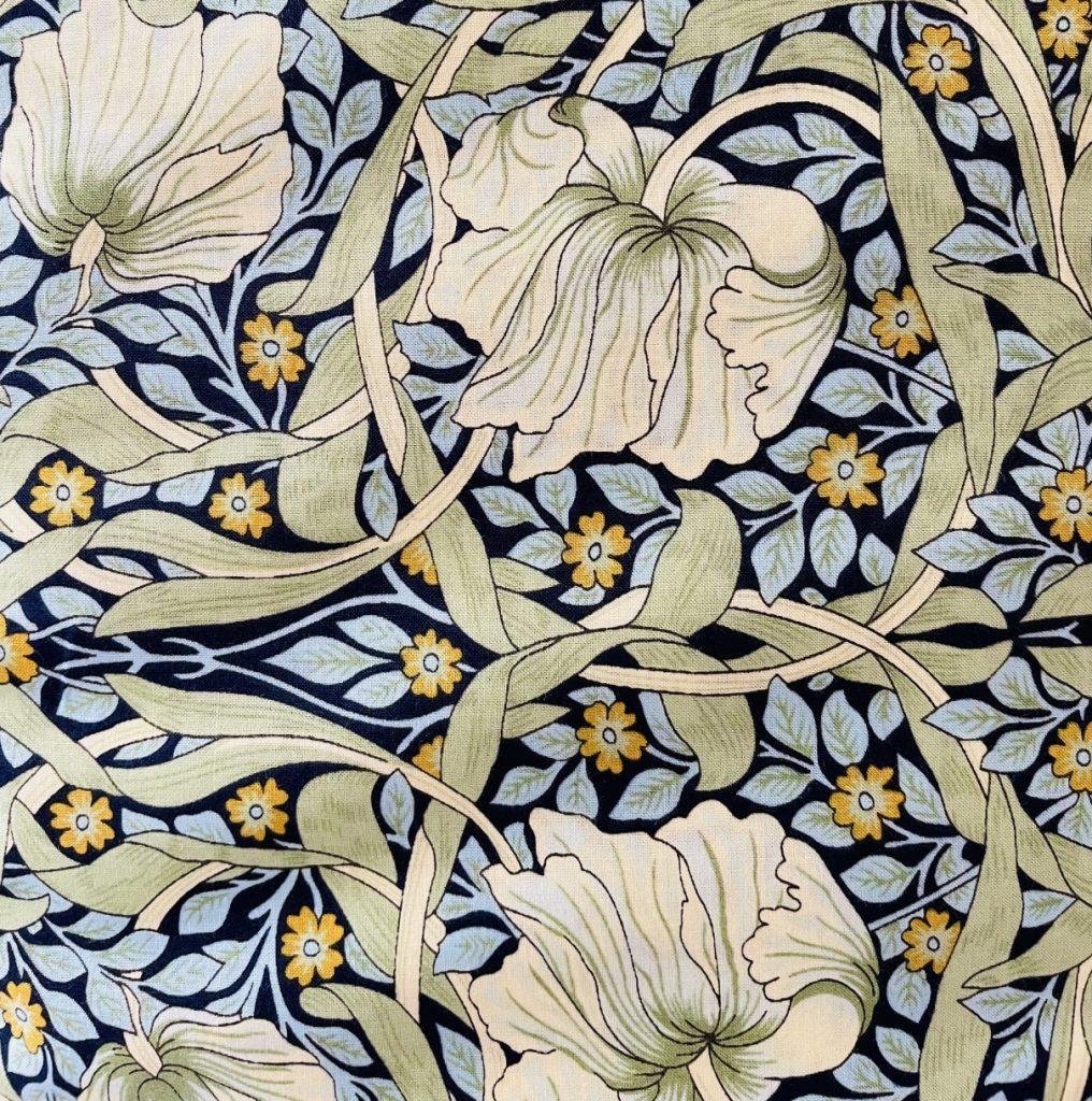 Fabric Pima Cotton Lawn Print Green